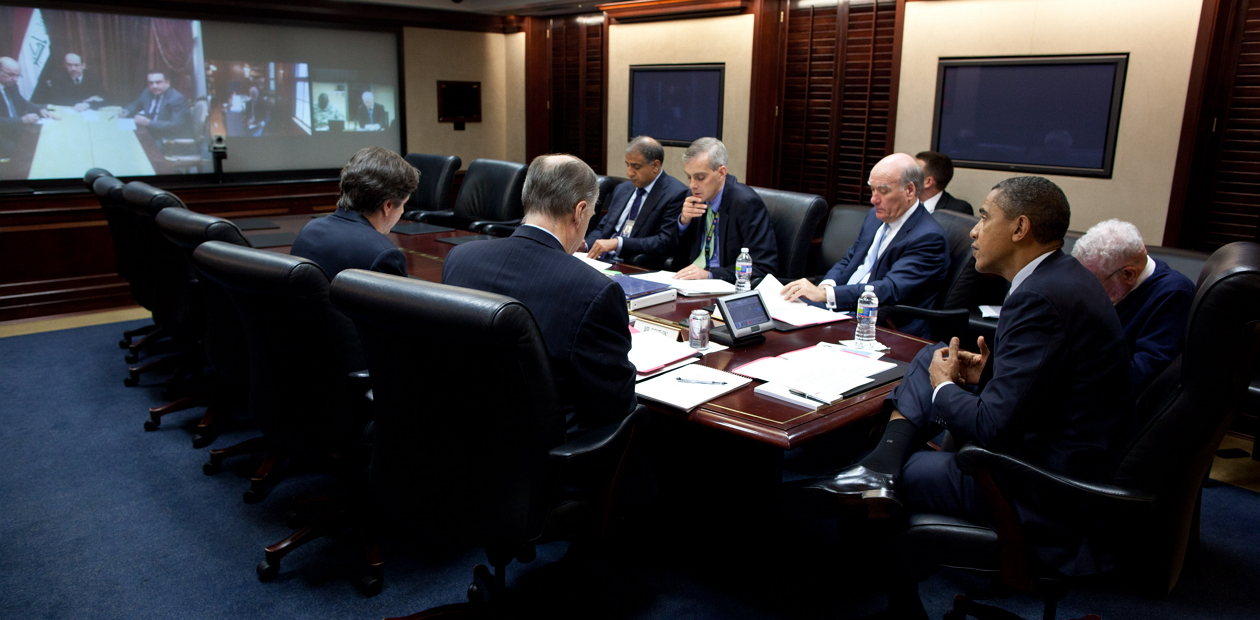 President Barack Obama Situation Room